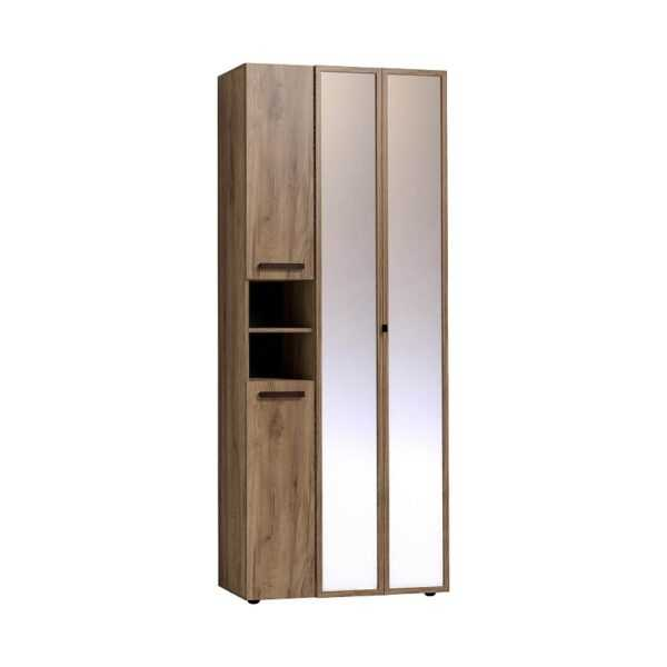 7d58dd9e7448261c01621cff0abed8ae 600x600 - Nature 87 Шкаф для одежды и белья ФАСАД Зеркало Контур