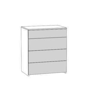 ameli komod 13.106  shem 300x300 - АМЕЛИ 13.106 Комод (шелковый камень/бетон чикаго беж)