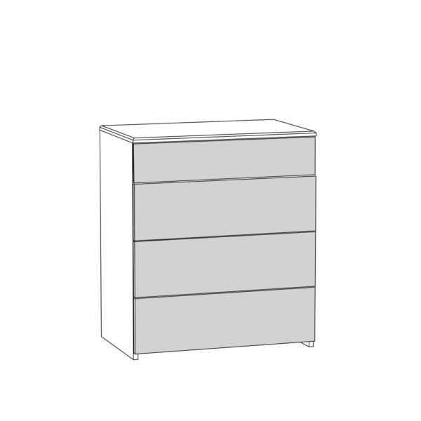 ameli komod 13.106  shem 600x600 - АМЕЛИ 13.106 Комод (шелковый камень/бетон чикаго беж)