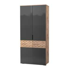 deli 70 300x300 - ДЕЛИ 70 Шкаф 2-х дверный (дуб эндгрейн/антрацит)