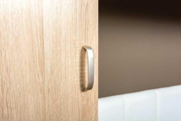 ЛИНДА 305 Шкаф 2-х дверный (дуб сонома/белый)