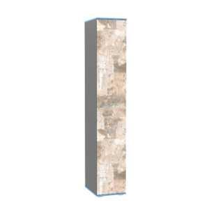 indigo shkaf 13.41 300x300 - ИНДИГО 13.41 Шкаф (темно-серый/граффити)