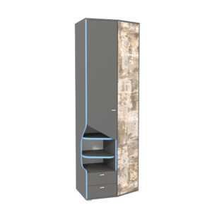 indigo shkaf mtsn 10.19 300x300 - ИНДИГО 10.19 Шкаф многоцелевого назначения (темно-серый/граффити)