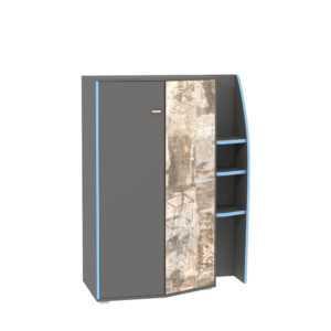 indigo shkaf mtsn 10.20 300x300 - ИНДИГО 10.20 Шкаф многоцелевого назначения (темно-серый/граффити)