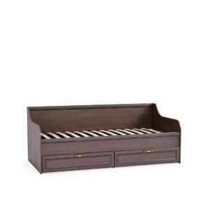 Кровать МАДЭРА 11.18 90х200 с ящиками (венге каштан)