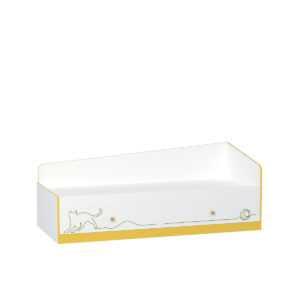 krovat 11.21 alfa 300x300 - АЛЬФА 11.21 Кровать 80х190 см с ящиками (солнечный свет)