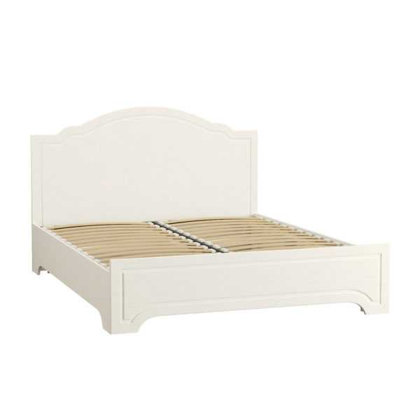Кровать ЛИВЕРПУЛЬ 11.08 160х200 (белый/ясень ваниль)