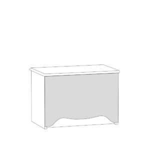 rouz tumba 13.235  shem 300x300 - РОУЗ 13.235 Тумба (ясень ваниль/белый)