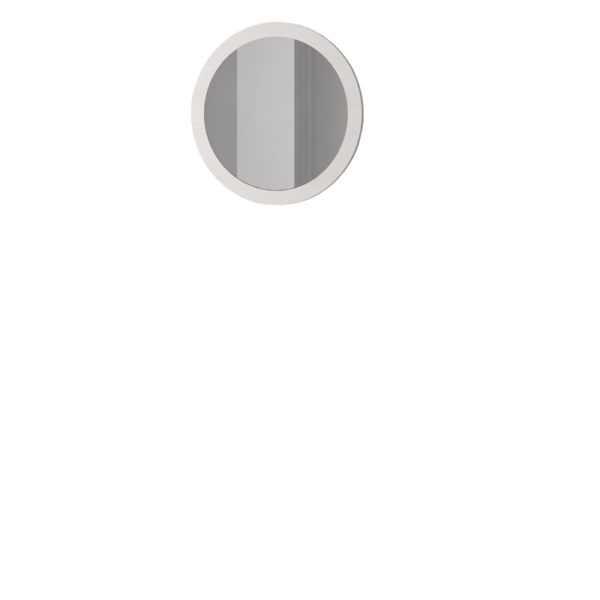 zerkalo 450 600x600 - АДЕЛЬ 450 Зеркало (ясень белый)