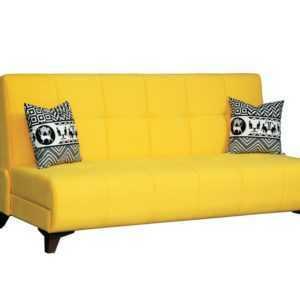 """1c6a8961 300x300 - Диван - кровать """"Лофт"""" (микровелюр желтый)"""