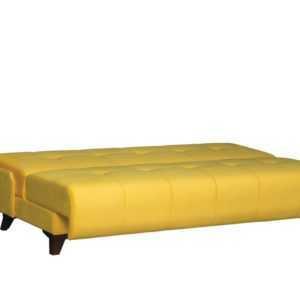 """1c6a8966 300x300 - Диван - кровать """"Лофт"""" (микровелюр желтый)"""