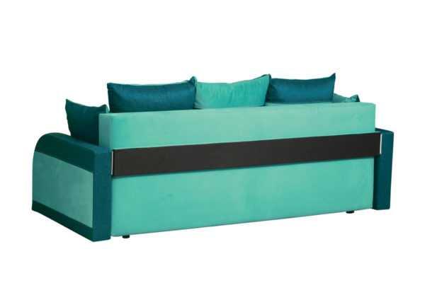 """yaguar okean yaguar mint szadi 600x400 - Диван - кровать """"Аджио"""" (ягуар минт / ягуар океан)"""