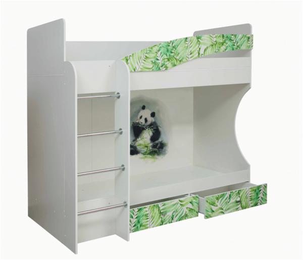 """Двухъярусная кровать """"Адель-1"""" (Панда)"""