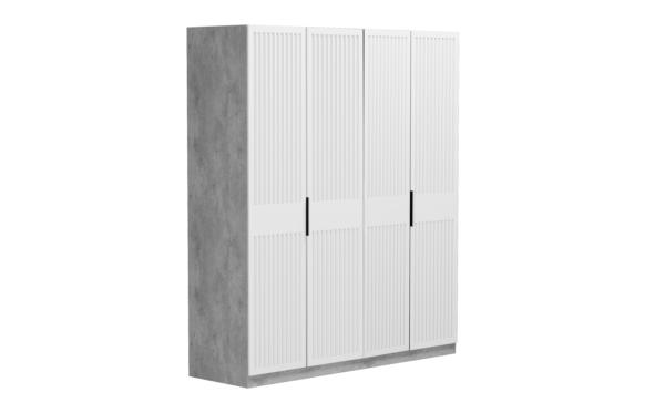 Бержер шкаф 4-х дверный 2000 мм (4 глухих двери)