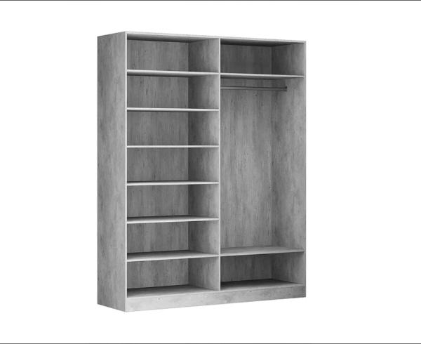 Бержер шкаф 4-х дверный (4 зеркала)