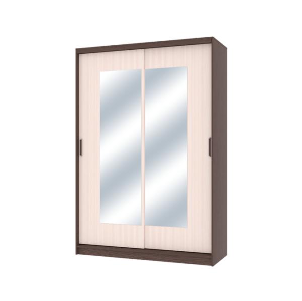 Неаполь шкаф-купе 2-х дверный с зеркалами 1500 мм