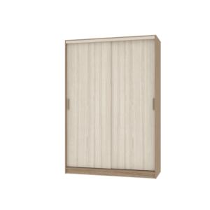Неаполь шкаф-купе 2-х дверный глухие двери 1500 мм