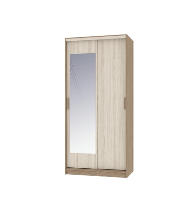 Неаполь шкаф-купе 2-х дверный с зеркалом 1000 мм