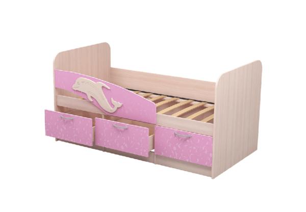 """Детская кровать """"Дельфин"""" 80х160 см"""