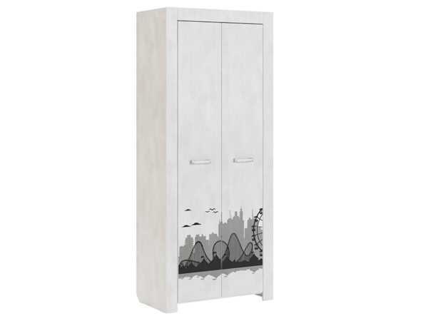 Фест 9 шкаф для одежды двухдверный