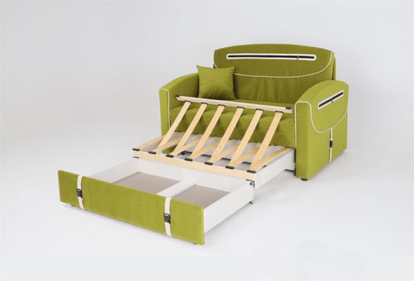 Кровать диван портфель