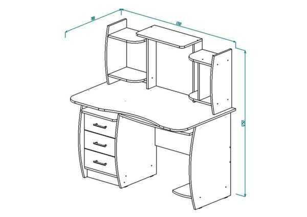 СК-3 Компьютерный стол