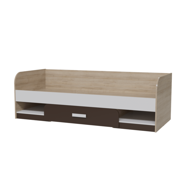Арабика кровать односпальная (80) с ящиком