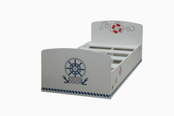 Лего-2 кровать одинарная (80) УФ печать