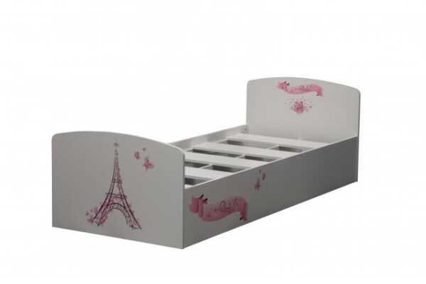 Лего-2 (Париж) кровать одинарная УФ печать