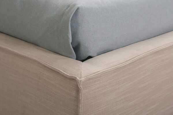 """Кровать NEXT 120х200 см мягкая с декоративным швом """"защип"""""""
