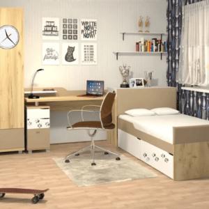 """Модульная мебель для детской """"Хаски"""""""